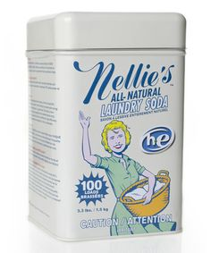 Love this Nellie's All-Natural All-Natural Laundry Soda by Nellie's All-Natural on #zulily! #zulilyfinds. $12.49  FOUND IT