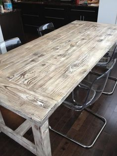 Farmhouse Table   Do It Yourself Home Projects from Ana White