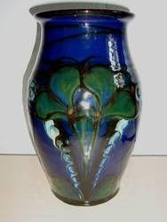 DANICO vase H: 27 cm D: 15 cm. År/year 1919-29. Sign: DANICO 91 B.  #Danico #vase #Danish #ceramics