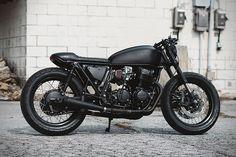 1978 Honda CB750 Ultra Noir by Clockwork Motorcycles 1