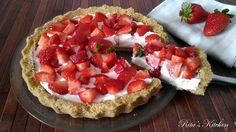 cercate un dolce fresco, veloce da preparare e che non richieda alcuna cottura? Eccolo, l'avete trovato: la crostata alle fragole senza cottura!