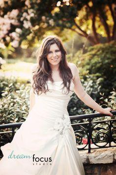 bridal portraits dallas arboretum
