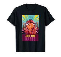 Zieh eine Karte - Zaubertrick Zauberer Spruch T-Shirt Zauberer Kleidung Magier Kostüm Zaubertricks Funny Shirts, Mens Tops, Wizards, Magic Tricks, Funny Humour, Funny Sayings, Cards, Clothing Apparel