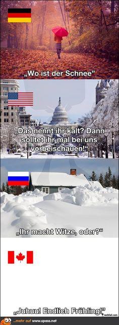 Winter? Wir in Deutschland kennen ihn nicht mehr