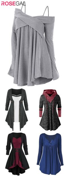 Cute Casual Outfits, Comfortable Outfits, Pretty Outfits, Stylish Outfits, Fall Outfits, Cute Fashion, Modest Fashion, Fashion Outfits, Cheap Plus Size Clothing