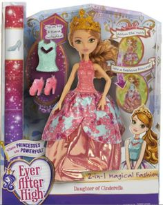 Ever After High 2 in 1 Magical Fashion Ashlynn Ella doll 2016. Credit to: Ever After High Dolls on Facebook