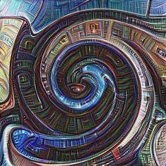 Torrent  #psychedelic #psychedelia #psyart #psychedelicart #trippy #trippyart #surreal #surrealism #surrealart #art #arte #kunst #konst #deepdream #dreamify #sweden #stockholm #spiral #spirals #spiralart #hyperspektiv #instaart by tormholmgren