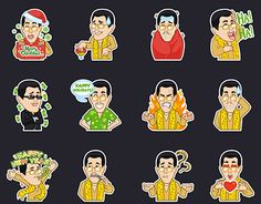 """Check out new work on my @Behance portfolio: """"PPAP stickers set"""" http://be.net/gallery/46547325/PPAP-stickers-set"""