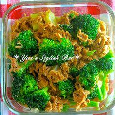 日持ち2〜3日♡旨味が染み染み♡『ブロッコリーとツナの麺つゆ煮』《簡単*節約*作り置き*お弁当》