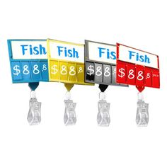 Supermarket price sign board Widely used in supermarket fresh area, with many Accessories to display price,like hanging hook, back rode and clip holder. Price Board, Price Signs, China Display, Guangzhou, Flip Clock, Chalkboard, Boards, Plastic, Fresh