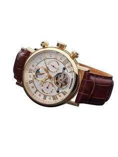 What's so special about Chicago Pionier Germany watch? White Leather, Men's Fashion, Take That, Watches, Diamond, Gold, Shopping, Accessories, Moda Masculina