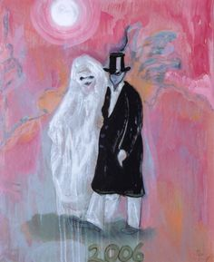 Peter Doig - Masqueraders, 2006, 635 x 517 mm (25 x 20 3/8 in), giclee and screenprint.