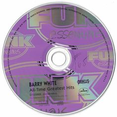 Barry White All-Time Greatest Hits 1995 CD Professionally Cleaned
