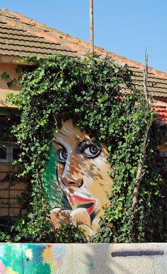 Tel Aviv, Israel #streetart #arteurbana #graffiti #urbanart #mural #wall #streetart jd