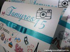 Convite 15 anos - Tamyres