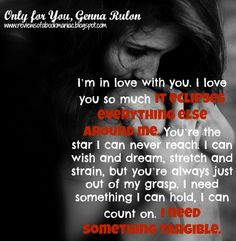 Only For You by @Genna Rulon