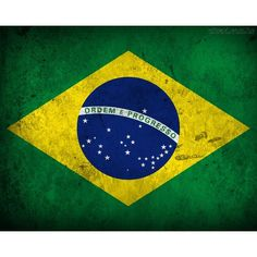 Bandeira do Brasil ❤ liked on Polyvore featuring backgrounds and fundo