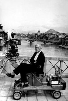 This is a picture of the director David Lean and it was taken on the set of the film A Passage to India It is a drama film which is based on the 1924 novel of the same title by E. Best Director, Film Director, A Passage To India, David Lean, Drama Film, Scene Photo, Film Stills, On Set, The Magicians