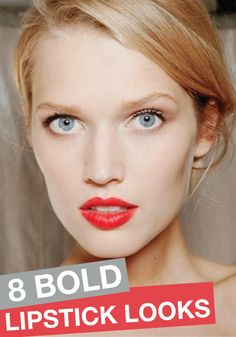Feeling daring? Give one of these bold lipstick looks a try!