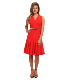 Calvin Klein Calvin Klein Lux Fit And Flare Fire Womens Dress for 60.99 at Im in!