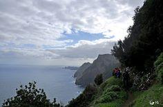 Caminhadas na Minha Terra - Madeira, Portugal   Larano - Espigão Amarelo - Boca do Risco - Pico Castanho - Pico do Facho (10-02-2013)