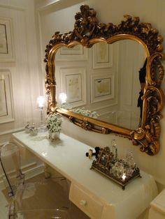 espelho antigos decoração do quarto - Pesquisa Google