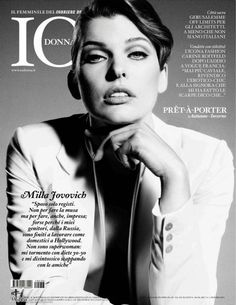Milla Jovovich - Io Donna Magazine Cover [Italy] (2 September 2011)