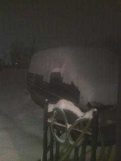 Terri Miller of Petersburg, WV sent this Pic of her van at 4:30 a.m. 9 inches.  #WHSVsnow
