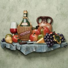 Kitchen Wall Plaques | ... kitchen wall plaque sale price $ 59 99 tulip fruit wall plaque sale