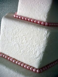 Want to know a secret? You can cover flaws in your fondant by giving it a stucco look!!