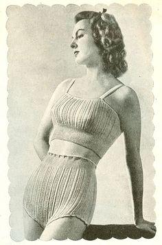 soft knitted underwear