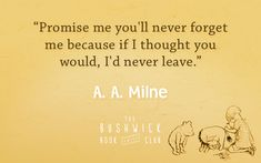 10 Quotes From A.A. Milne and Winnie-the-Pooh