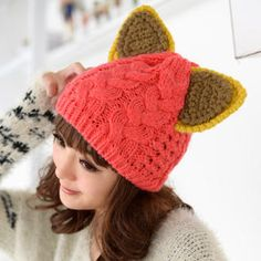 Buy '59 Seconds – Ear-Accent Cable-Knit Beanie' with Free International Shipping at YesStyle.com. Browse and shop for thousands of Asian fashion items from Hong Kong and more!