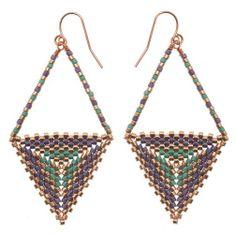 Beautiful Beaded Earrings Tutorials - The Beading Gem's Journal