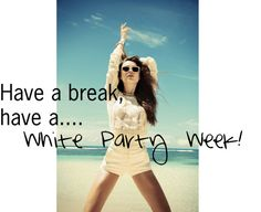 """""""white party week"""" by cocochristelle on Polyvore"""