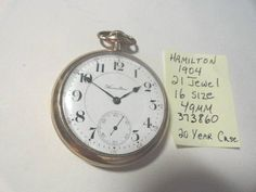 Excited to share the latest addition to my #etsy shop: 1904 Hamilton 21 Jewel Adjusted 5 Positions Pocket Watch 16 Size http://etsy.me/2ElFXpH #accessories #watch #hamilton #railroad #pocketwatch #21jewel #adjusted #kayesvintagejewelry