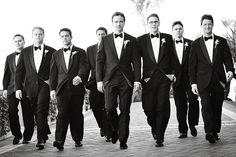 The essential groomsmen shot!