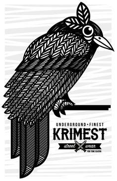 KRIMEST STREET WEAR X TONE OLVERA by Tone Olvera , via Behance