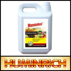Huminrich Shenyang Foliar Spray 100% Water Soluble Names Organic Fertilizers