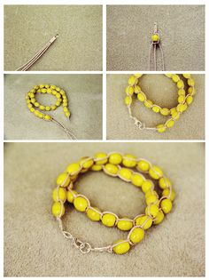 teahab: DIY Wrap Up Bracelet