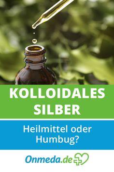 Kolloidales Silber soll gegen Keime wie Bakterien wirken und viele andere positive Gesundheitseffekte haben. Und das angeblich ganz ohne Nebenwirkungen. Was ist dran am Silberwasser?