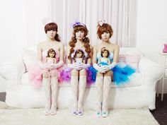 doll with doll~