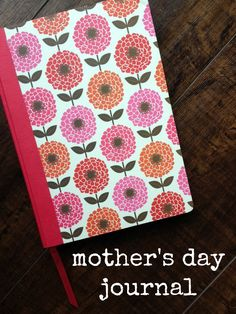 Instead of buying and piling up Mother's Day cards every year, check out this brilliant Mother's Day journal idea!