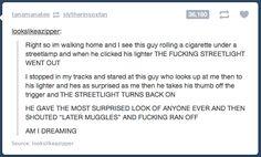 """""""Later Muggles!"""""""