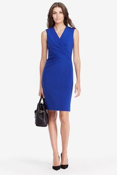 DVF Leora Fitted Dress | Landing Pages by DVF
