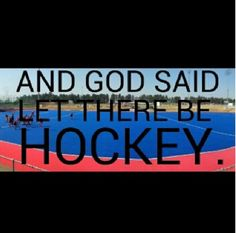 Let there be hockey