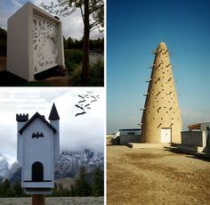Housing On The Wing: 10 Bitingly Bizarre Bat Houses | WebEcoist