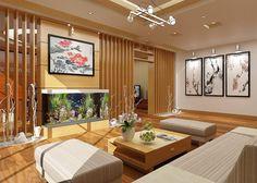 thiết kế nội thất phòng khách đẹp, hợp lý, tinh tế