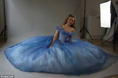 Rave reviews: Cinderella is played by Downton Abbey's Lily James. The film has had excelle...