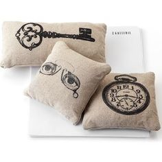 silkscreening pillows